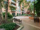 Private Gated Patio for Residents of the Monroe - 3625 10TH ST N #408, ARLINGTON