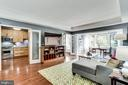 Open Layout to Kitchen & Dining Room - 3601 CONNECTICUT AVE NW #118, WASHINGTON