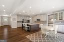 Massive kitchen - 17429 SPRING CRESS DR, DUMFRIES