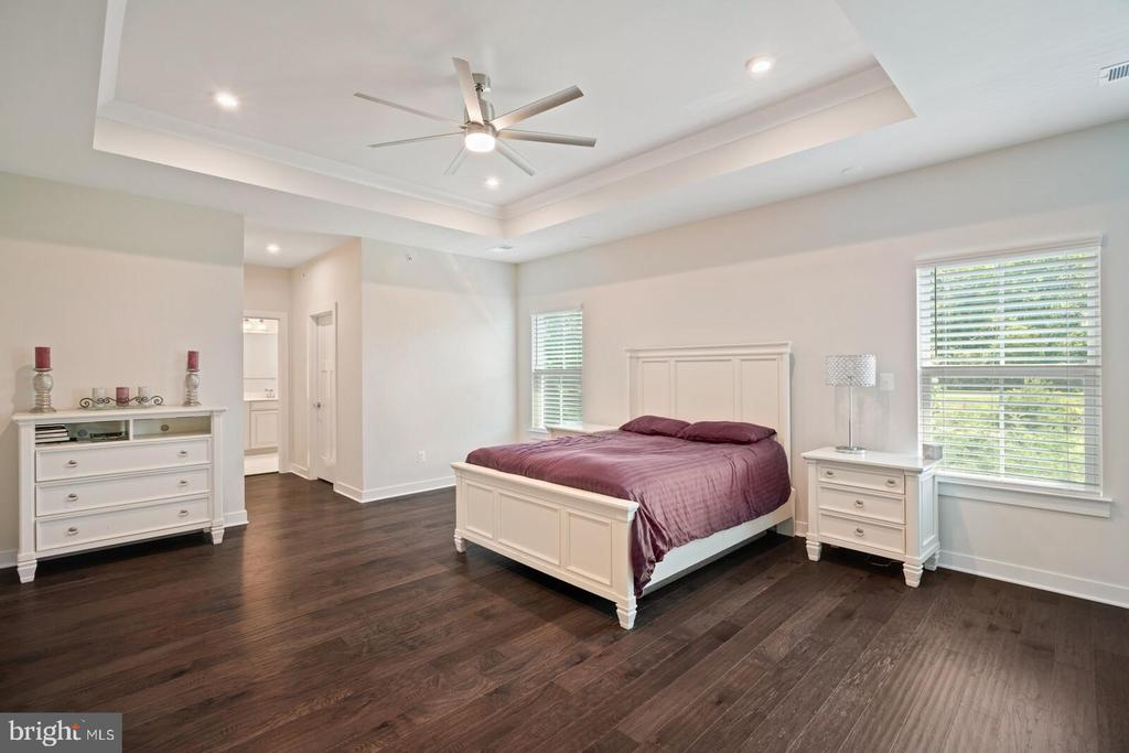 Owners bedroom with wood floors - 17429 SPRING CRESS DR, DUMFRIES