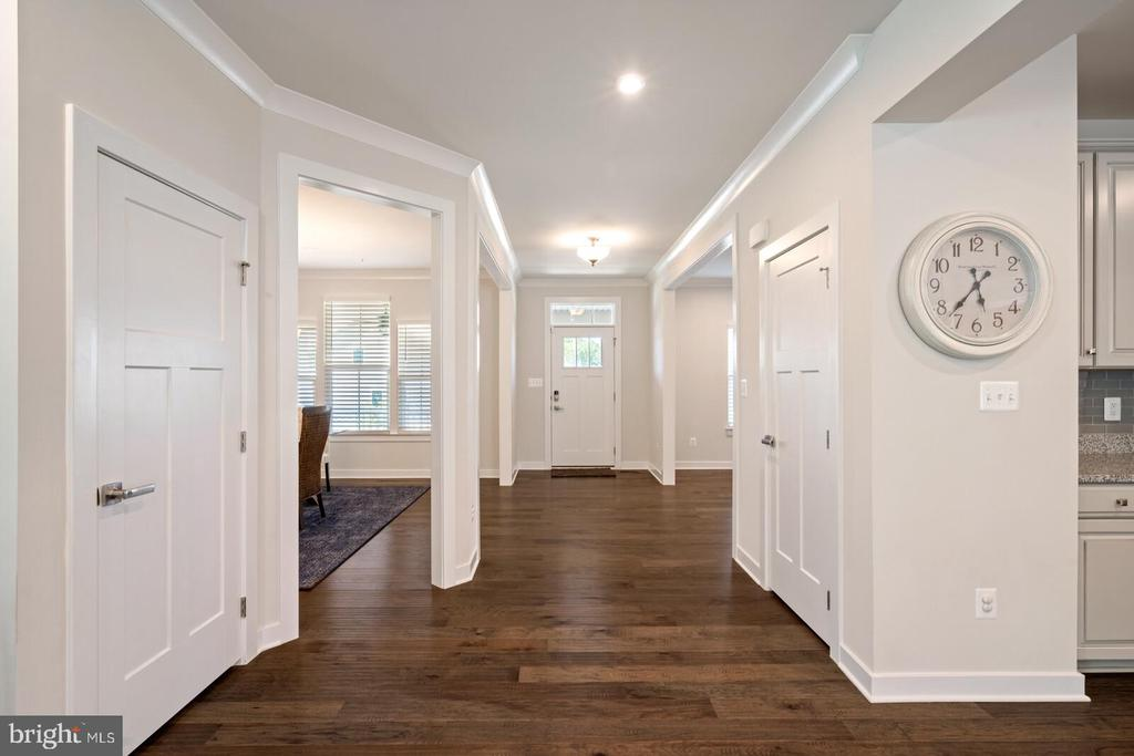 Foyer entry - 17429 SPRING CRESS DR, DUMFRIES