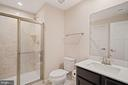 Basement Bath - 17429 SPRING CRESS DR, DUMFRIES