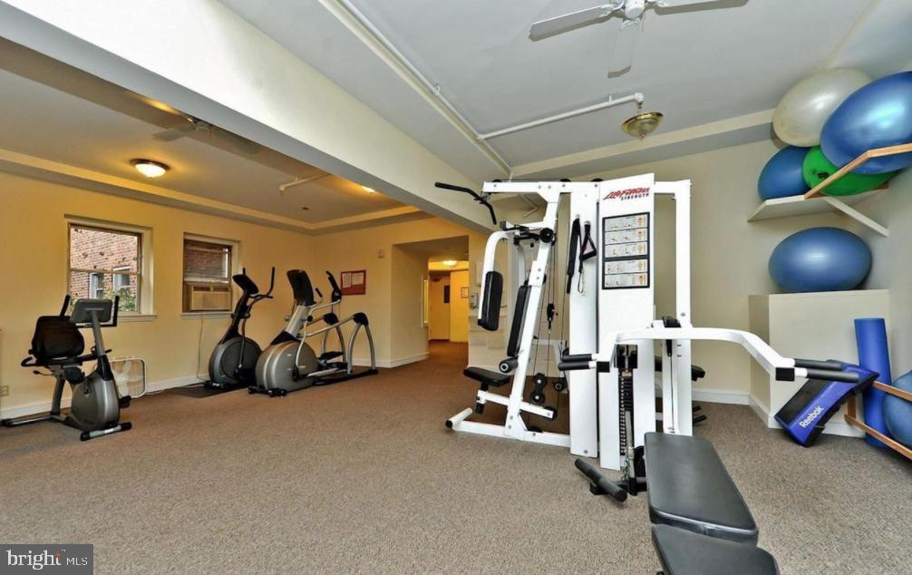 Fitness Center - 3601 CONNECTICUT AVE NW #118, WASHINGTON