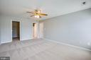 Master bedroom with walk in closet - 35187 PHEASANT RIDGE RD, LOCUST GROVE