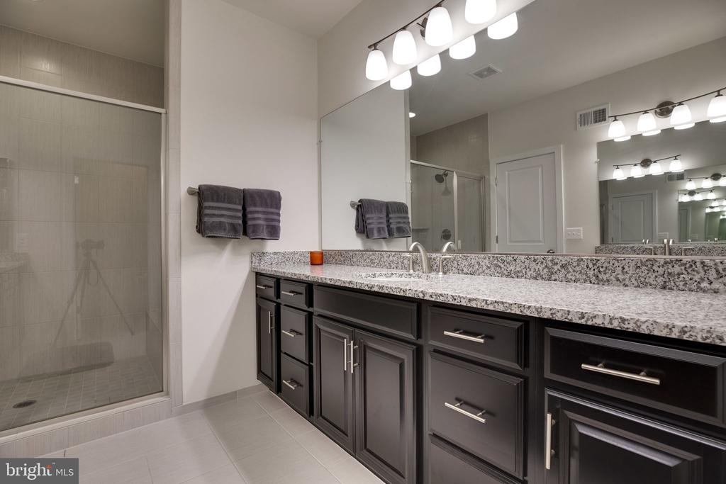 Her vanity and shower - 42308 IMPERVIOUS TER, BRAMBLETON