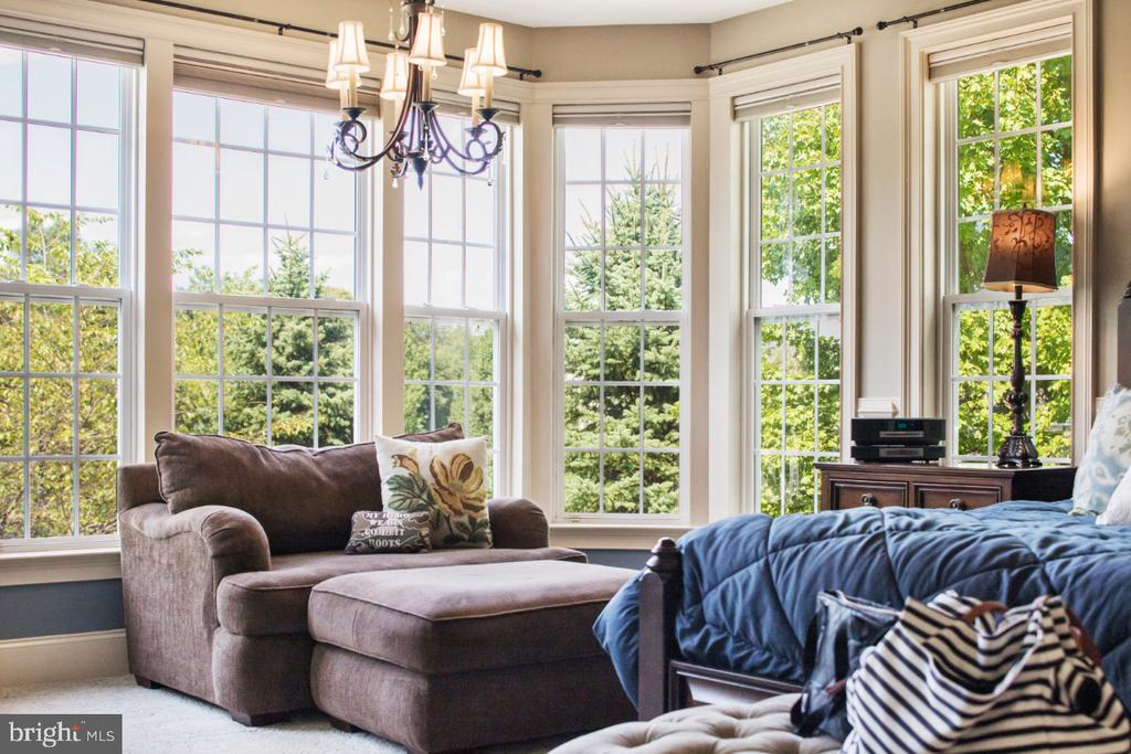 bay window with gorgeous views. - 2270 W GREENLEAF DR, FREDERICK