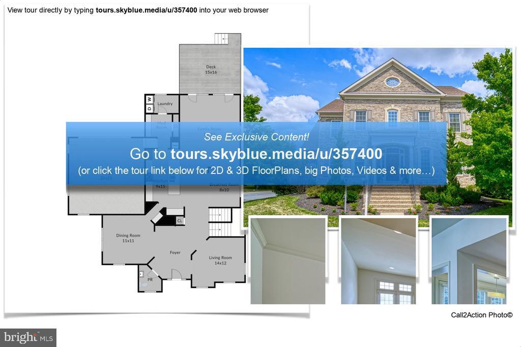 Go to Link for More Information - 42439 MERIDIAN HILL DR, BRAMBLETON
