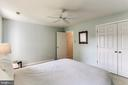 Bedroom #4- Large Double Door Closet - 8728 HIDDEN POOL CT, LAUREL