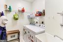 First Floor Laundry Room- Off Garage - 8728 HIDDEN POOL CT, LAUREL