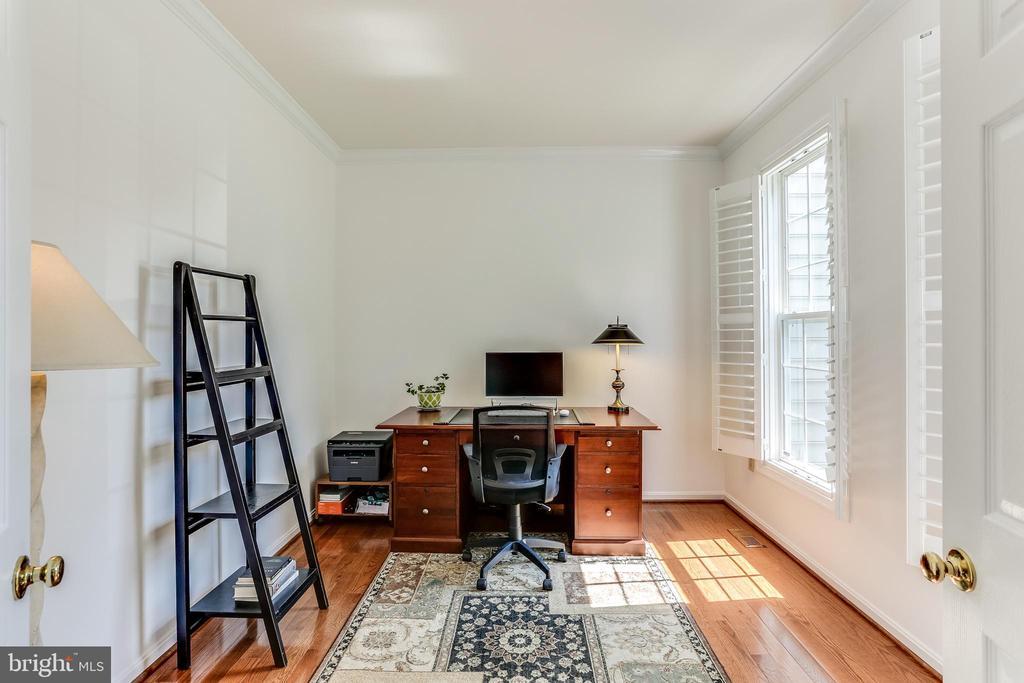 First Floor Office- Hardwoods, Plantation Shutters - 8728 HIDDEN POOL CT, LAUREL