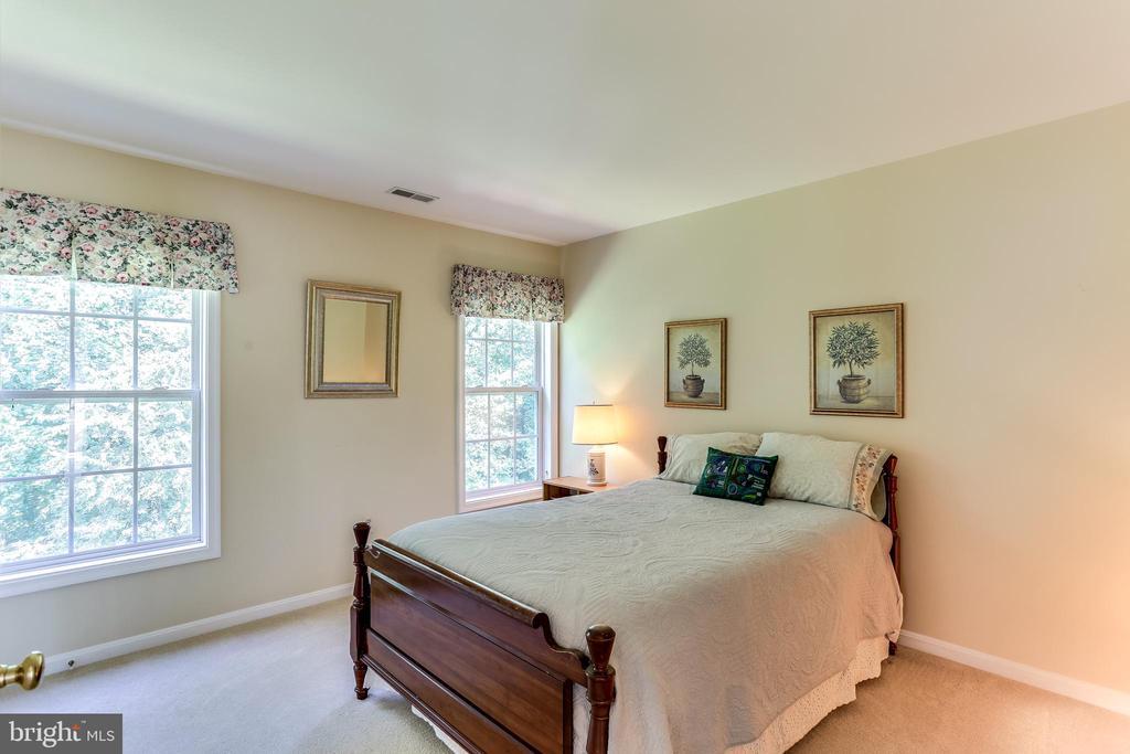 Bedroom #2- Private Views of Woods! - 8728 HIDDEN POOL CT, LAUREL