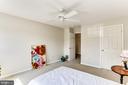 Bedroom #3- Ceiling Fan! - 8728 HIDDEN POOL CT, LAUREL