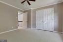 2nd Bedroom with ample closet - 1271 N VAN DORN ST, ALEXANDRIA