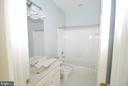 Second bathroom - 9560 TARVIE CIR, BRISTOW