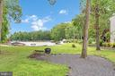 Lush, level yard leading to waterfront - 1201 LAKEVIEW PKWY, LOCUST GROVE
