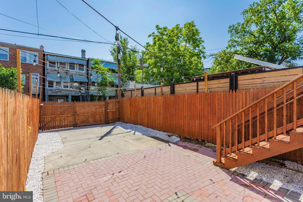 New landscaping! - 5013 8TH ST NW, WASHINGTON