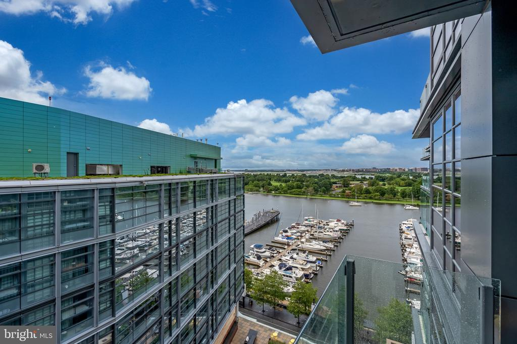 one of a kind elevation and views  for DC - 45 SUTTON SQ SW #1104, WASHINGTON