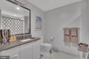 Second full bath with marble floors - 45 SUTTON SQ SW #1104, WASHINGTON