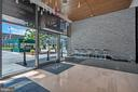 Water feature in lobby is calming! - 45 SUTTON SQ SW #1104, WASHINGTON