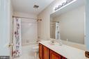 Second Floor Hall Bath - 10303 WAVERLY WOODS DR, ELLICOTT CITY