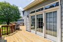 Newly Refinished Deck - 10303 WAVERLY WOODS DR, ELLICOTT CITY