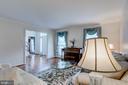 Formal Living Room W/Hardwood - 10303 WAVERLY WOODS DR, ELLICOTT CITY