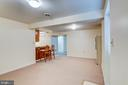 Basement Rec. Room - 10303 WAVERLY WOODS DR, ELLICOTT CITY