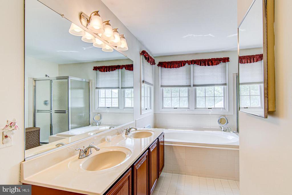 Master Bathroom W/Super Bath - 10303 WAVERLY WOODS DR, ELLICOTT CITY