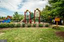 One of several neighborhood playgrounds - 43600 CANAL FORD TER, LEESBURG