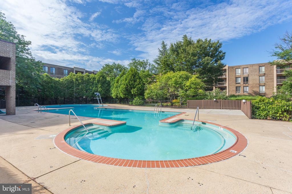 Refreshing community pool - 805 N HOWARD ST #336, ALEXANDRIA