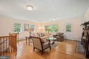 LL Family Room with access to back yard - 2747 N NELSON ST, ARLINGTON