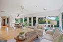 Great entertaining flow from FR to back patio - 2747 N NELSON ST, ARLINGTON