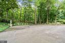 The parking court easily holds 8-10 cars - 2747 N NELSON ST, ARLINGTON