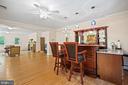 View into full LL Family Room - 2747 N NELSON ST, ARLINGTON