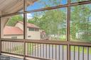 Screened porch off master with great water views - 1201 LAKEVIEW PKWY, LOCUST GROVE