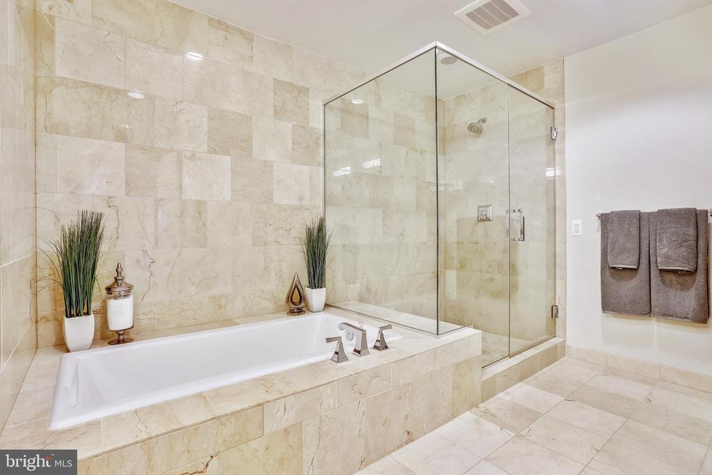 Master Bath - 7171 WOODMONT AVE #605, BETHESDA