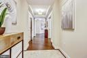 Foyer - 7171 WOODMONT AVE #605, BETHESDA