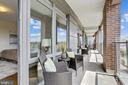 Private Balcony - 7171 WOODMONT AVE #605, BETHESDA