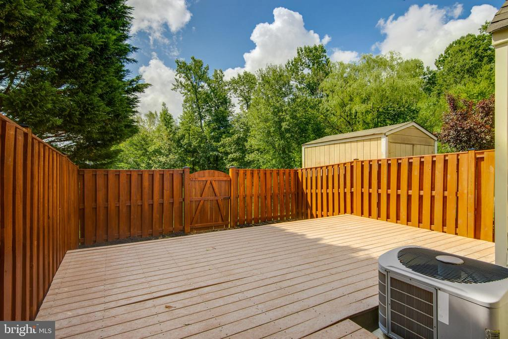 Immaculate lower deck - 8873 OLD SCAGGSVILLE RD, LAUREL