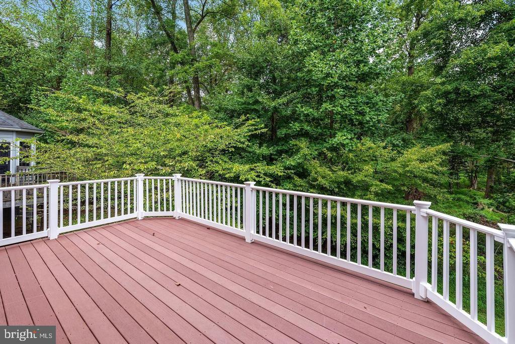 Rear Deck - Privacy! - 9628 BOUNDLESS SHADE TER, LAUREL