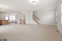 Expansive Family Room - 43666 CHICACOAN CREEK SQ, LEESBURG