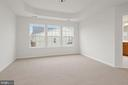 Master Bedroom Suite with Tray Ceiling - 43666 CHICACOAN CREEK SQ, LEESBURG