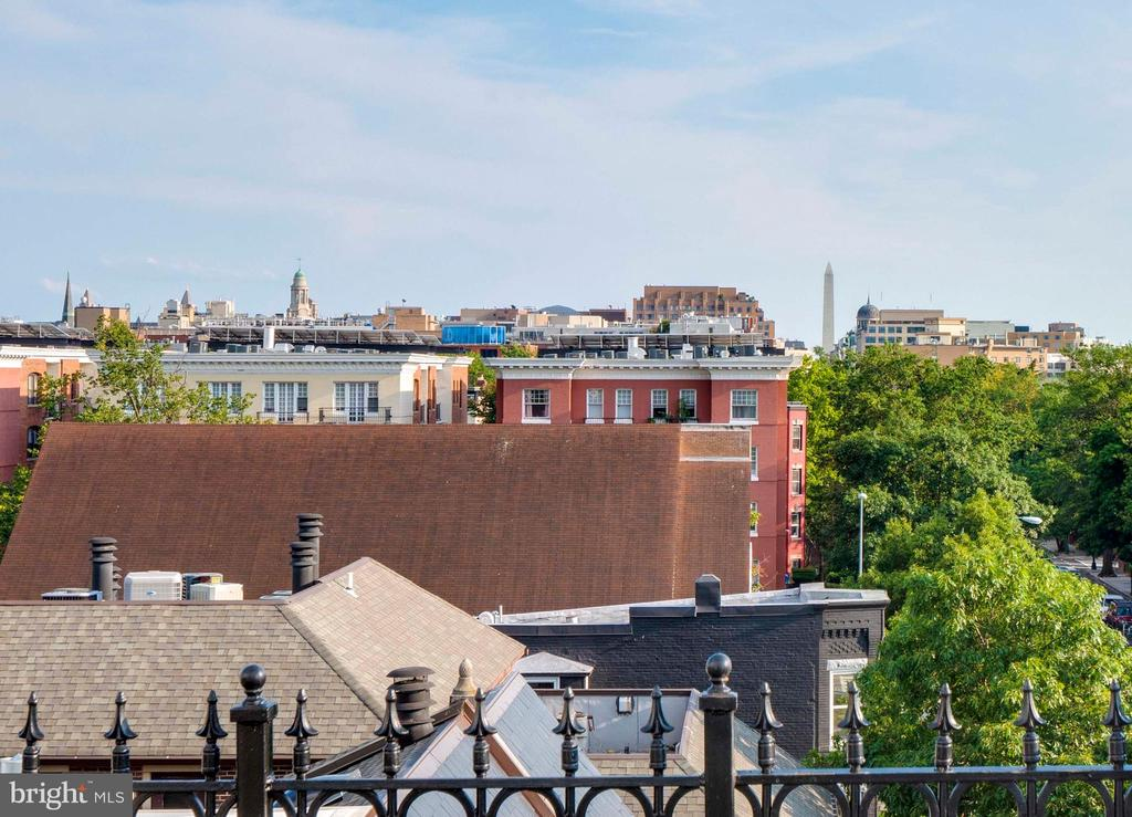 Rooftop Deck with 360 views! - 1717 15TH ST NW, WASHINGTON