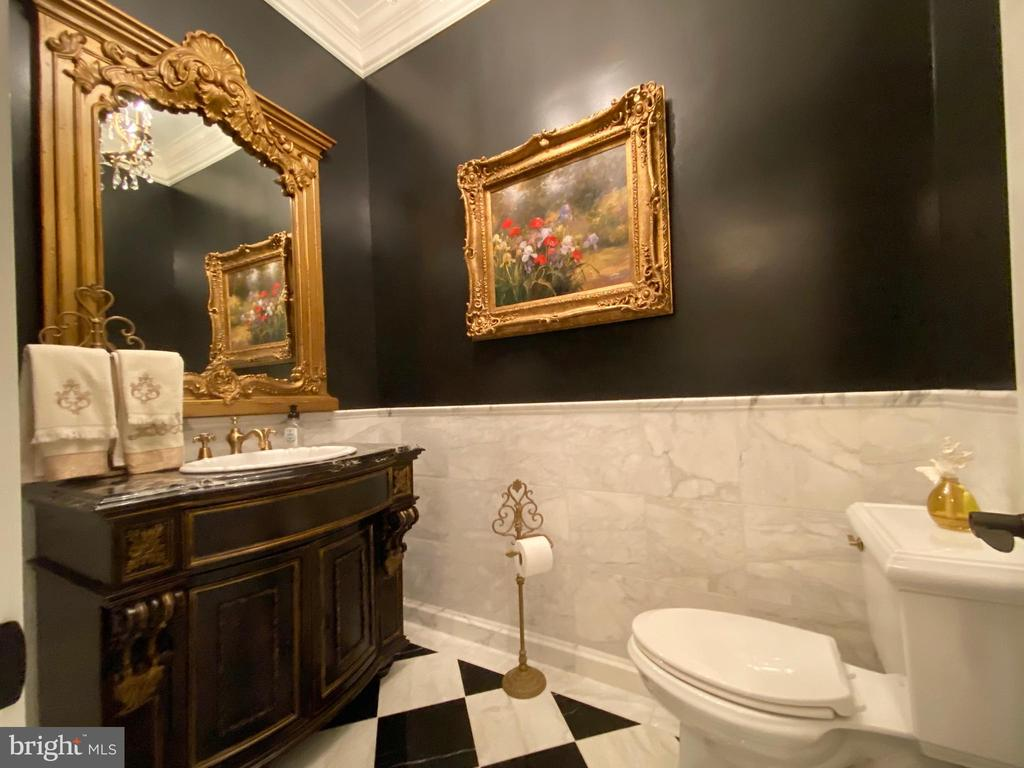 Main level powder room - 40483 GRENATA PRESERVE PL, LEESBURG