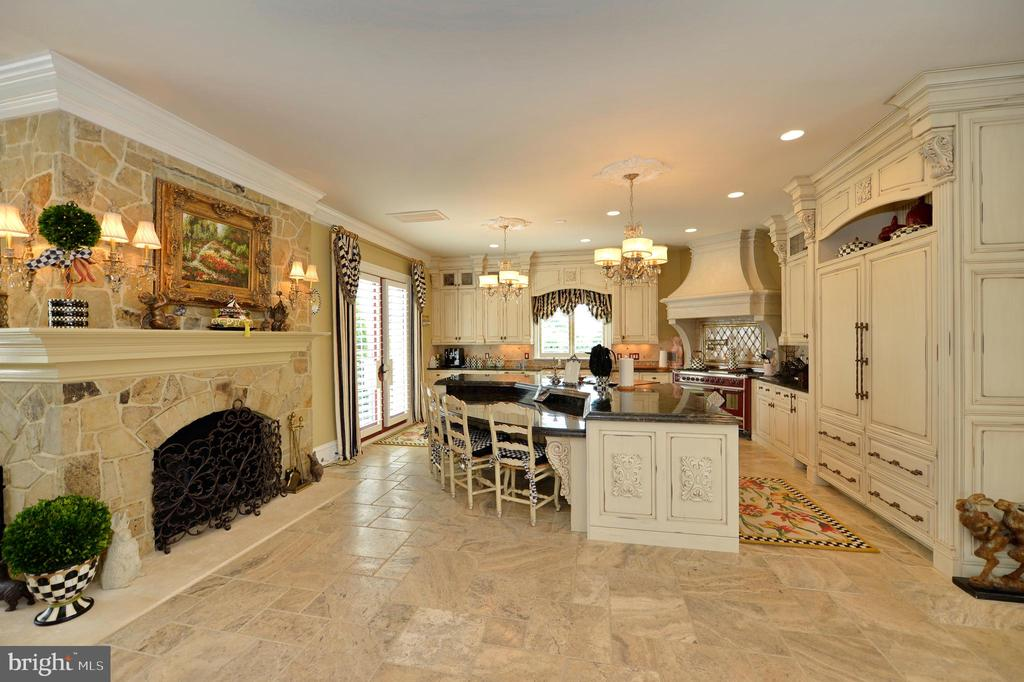 Awe inspiring kitchen with high-end finishes - 40483 GRENATA PRESERVE PL, LEESBURG