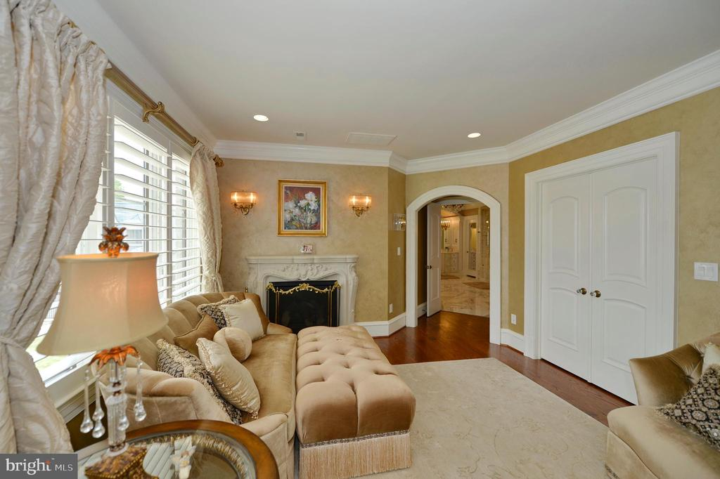 Owners retreat separate sitting room - 40483 GRENATA PRESERVE PL, LEESBURG