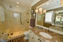 Fourth en-suite private bath w/two vanities - 40483 GRENATA PRESERVE PL, LEESBURG