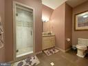 Sixth en-suite private bath - 40483 GRENATA PRESERVE PL, LEESBURG