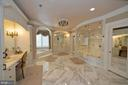 Spa bath worthy of the finest hotel - 40483 GRENATA PRESERVE PL, LEESBURG