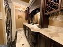 Wine room storage and serving - 40483 GRENATA PRESERVE PL, LEESBURG